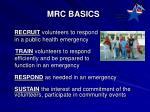 mrc basics