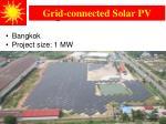 bangkok solar 1 mw pv