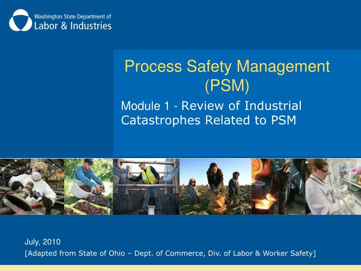 process safety management psm n.