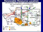 renewable resource location