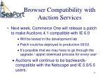 browser compatibility with auction services35