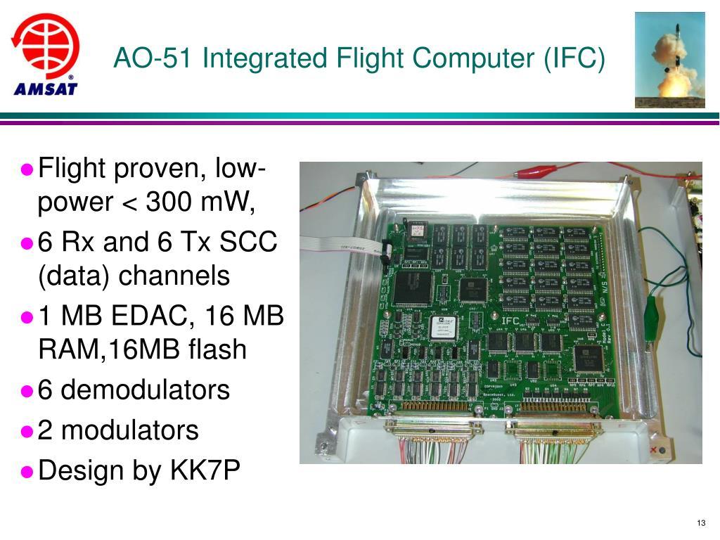 AO-51 Integrated Flight Computer (IFC)