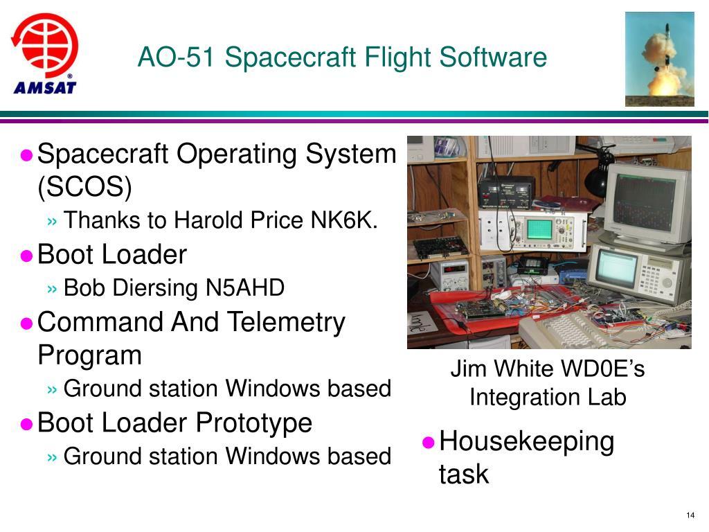 AO-51 Spacecraft Flight Software