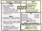 topical retinoids
