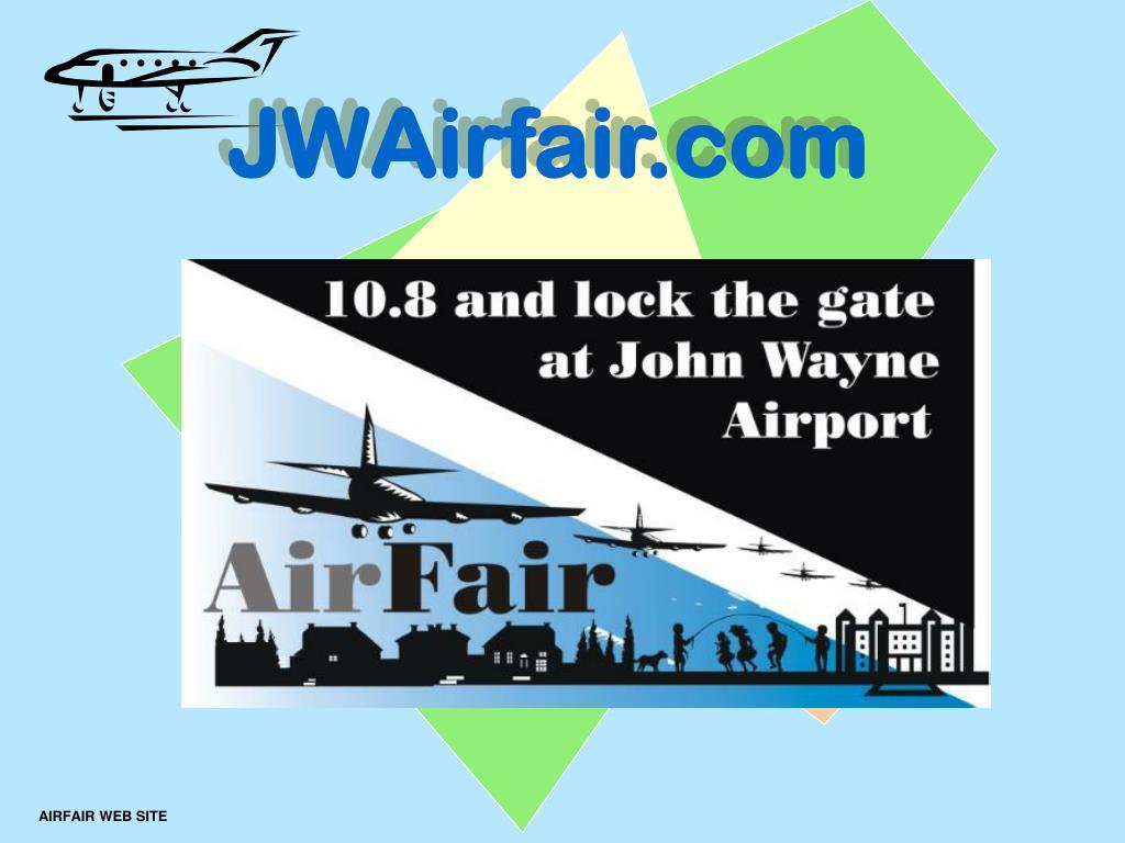 airfair web site l.