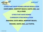 cities who signed