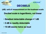 decibels defined