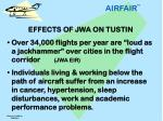 effects of jwa on tustin 2