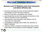 why local television websites