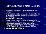 imagem som e movimento