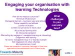 engaging your organisation with learning technologies