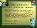 chemical agents of concern25