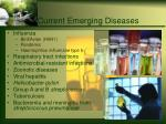 current emerging diseases
