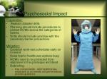psychosocial impact41