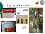 ppy deposition setup