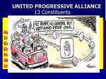 united progressive alliance