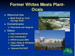 former whites meats plant ocala