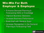 win win for both employer employee