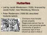 hutterites