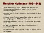 melchior hoffman 1495 154328