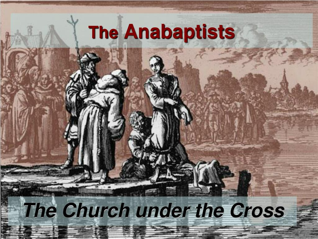 the anabaptists l.