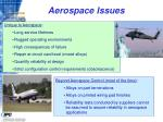 aerospace issues