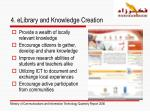 4 elibrary and knowledge creation