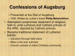 confessions of augsburg