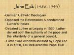 john eck 1486 1543