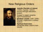 new religious orders31