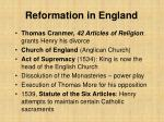 reformation in england25