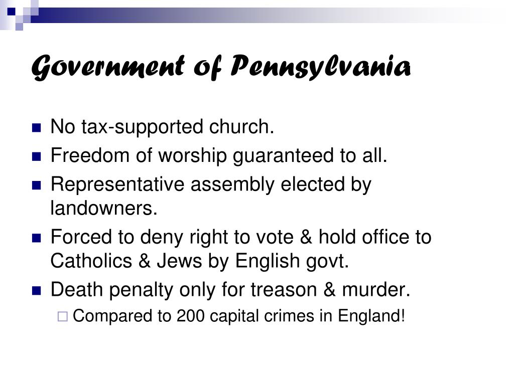 Government of Pennsylvania