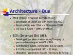 architecture bus25