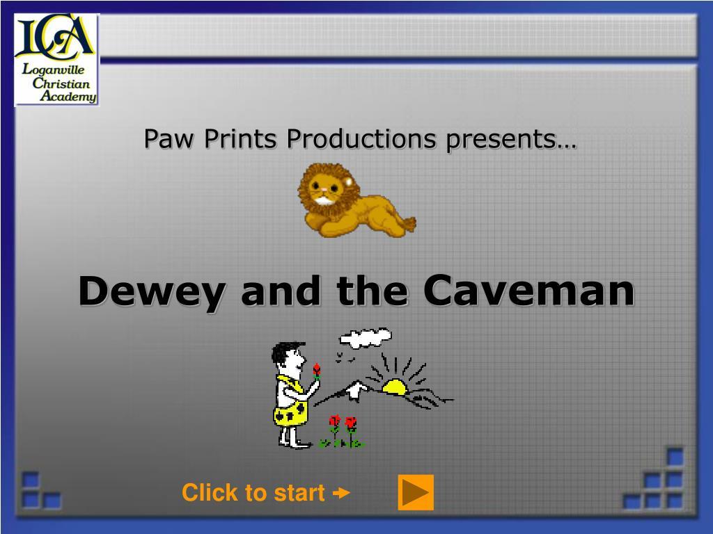 paw prints productions presents l.