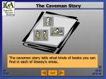 the caveman story