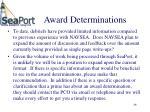 award determinations46