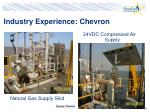 industry experience chevron20