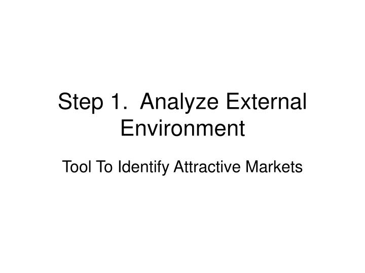 th environmental analysis of threats for maybelline company The southwest airlines swot analysis is a good example to illustrate how a swot analysis can be a opportunities and threats are external environmental.