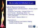 molecular to global scale14