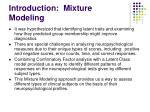 introduction mixture modeling