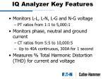 iq analyzer key features11