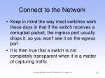 connect to the network22