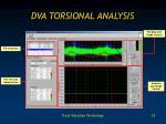 dva torsional analysis