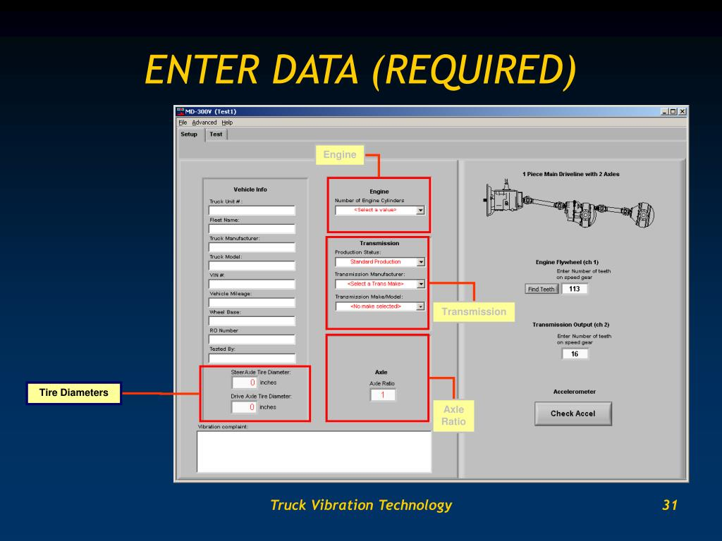 ENTER DATA (REQUIRED)