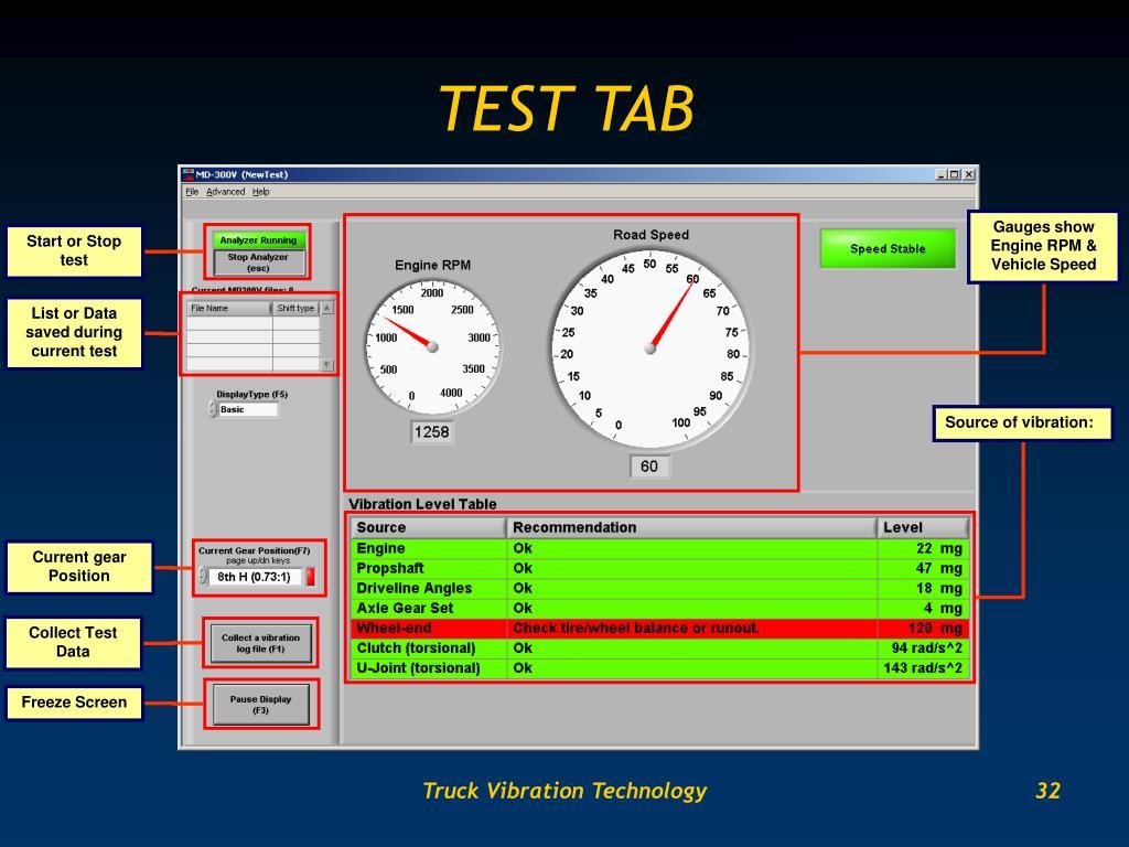 TEST TAB