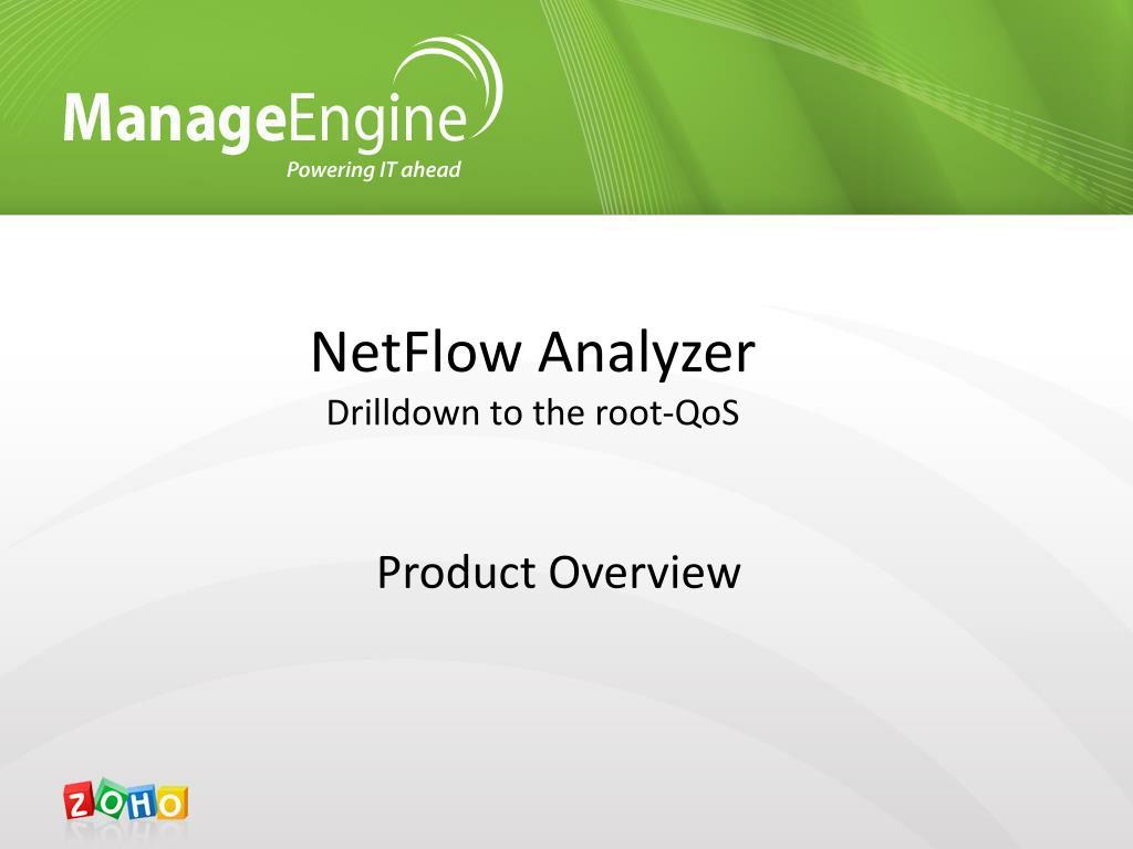 netflow analyzer drilldown to the root qos l.