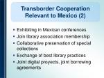 transborder cooperation relevant to mexico 2