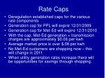 rate caps