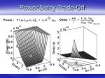power delay trade off
