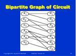 bipartite graph of circuit